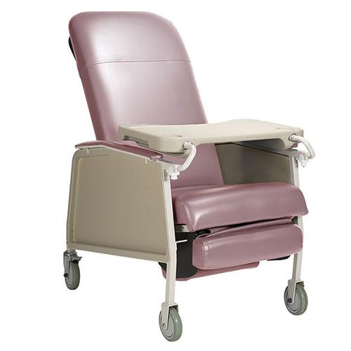 Dynarex Bariatric Geri Chair Recliner - Rosewood