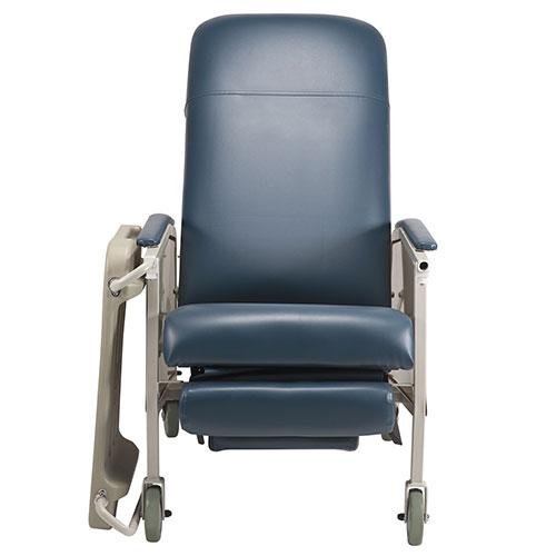 Dynarex Bariatric Geri Chair Recliner - Tray Down