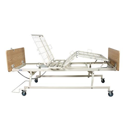 Dynarex D100 Standard Height Bed - Side View