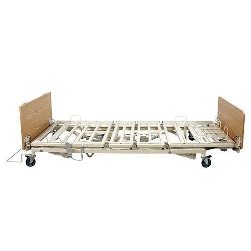 Dynarex DB200 Bariatric Bed - Side View, Flat