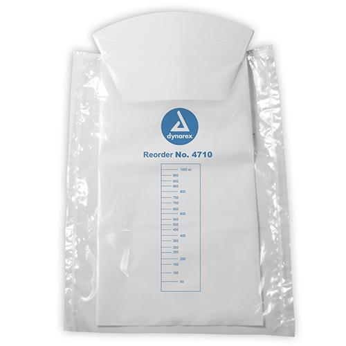 Dynarex Emesis Bag - White with Hand Protection