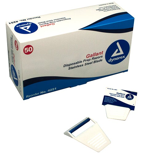 Dynarex Gallant Disposable Prep Razors box