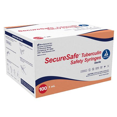 Dynarex SecureSafe Tuberculin Safety Syringe