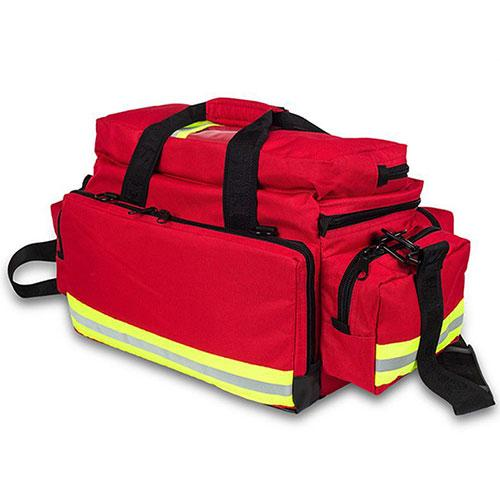 Elite Bags Emergency's Great Capacity Duffle Bag - Red, Back