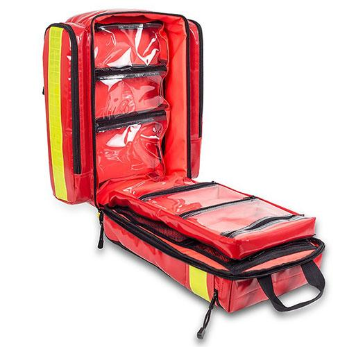 Elite Bags Emergency's Infection Control Rescue Backpack - Open