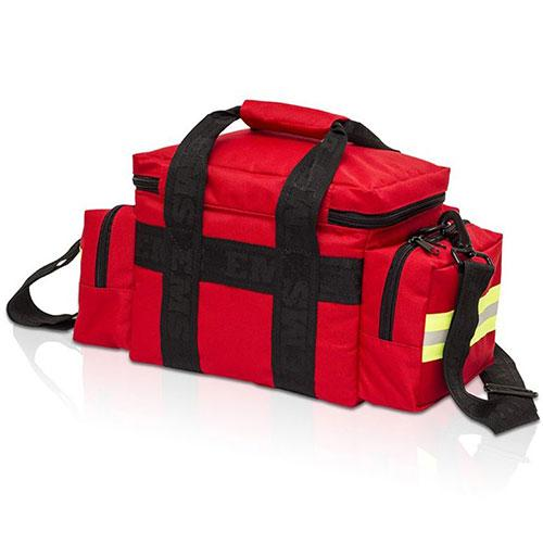 Elite Bags Emergency's Light Transport Bag - Red, Back View