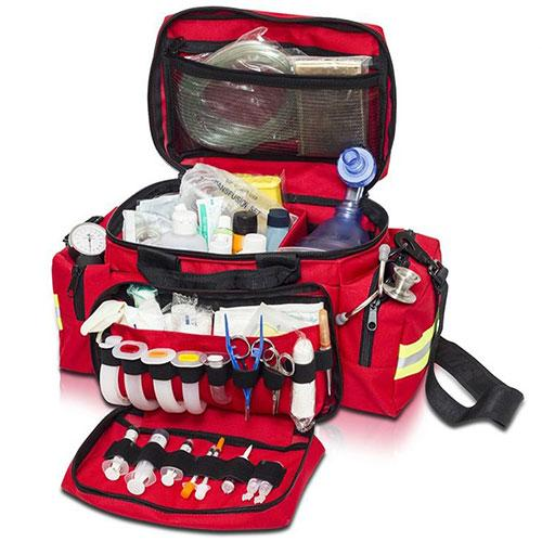 Elite Bags Emergency's Light Transport Bag - Red, Open