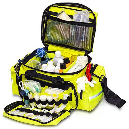 Elite Bags Emergency's Light Transport Bag - Yellow, Open