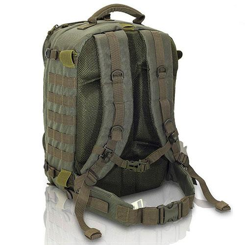 Elite Bags Military Tactical Rescue Backpack - OD Green, Back