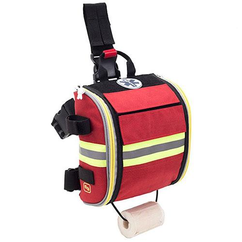 Elite Bags Quickaid's Drop Leg First Aid Bag - Red