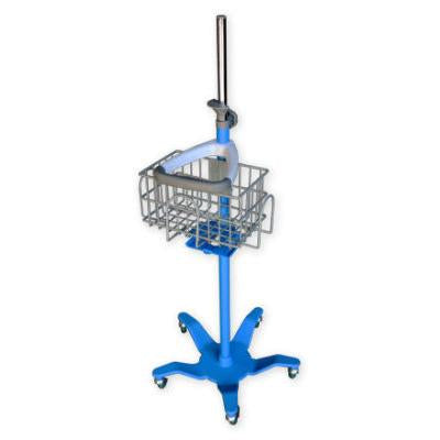 GE DINAMAP Pole Mount Rolling Stand