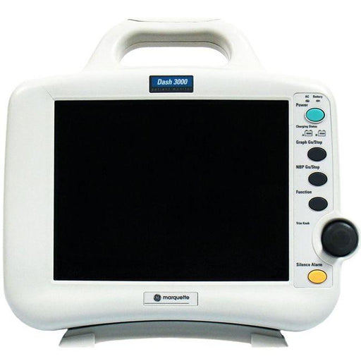 GE / Marquette Dash 3000 Patient Monitor front view