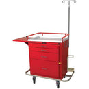 Harloff 6301 Classic Short 4 Drawer Emergency Cart  - Breakaway Lock, Specialty Package - 1