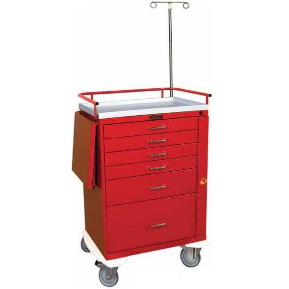 Harloff 6401 Classic Line Six Drawer Emergency Cart