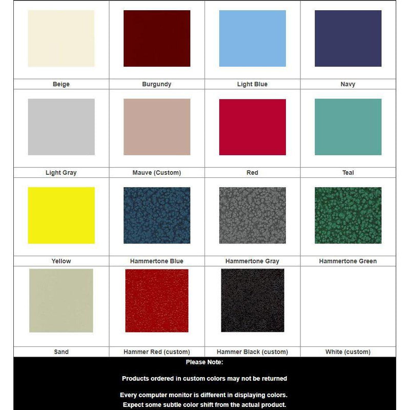 Harloff Color Chart