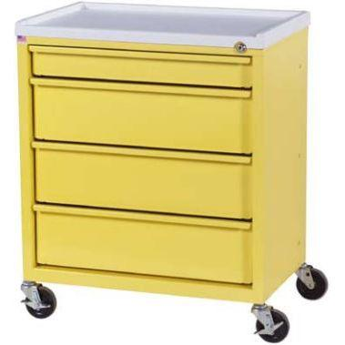 Harloff ETC-4 4 Drawer Treatment Cart