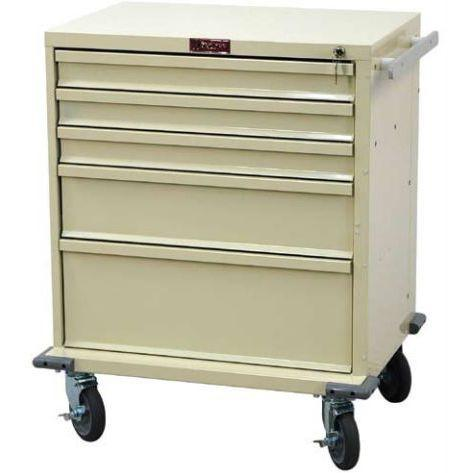 Harloff V24-5K 5 Drawer Procedure Cart