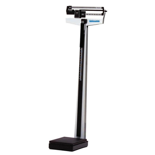 Health o meter 402LB Mechanical Beam Scale with Height Rod