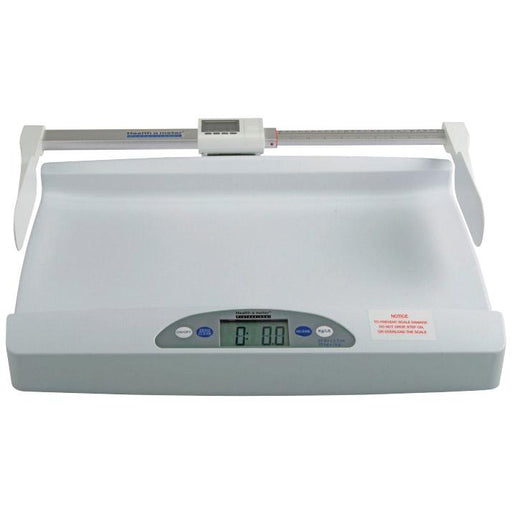 Health o meter 553 Digital Pediatric Tray Scale with Height Rod