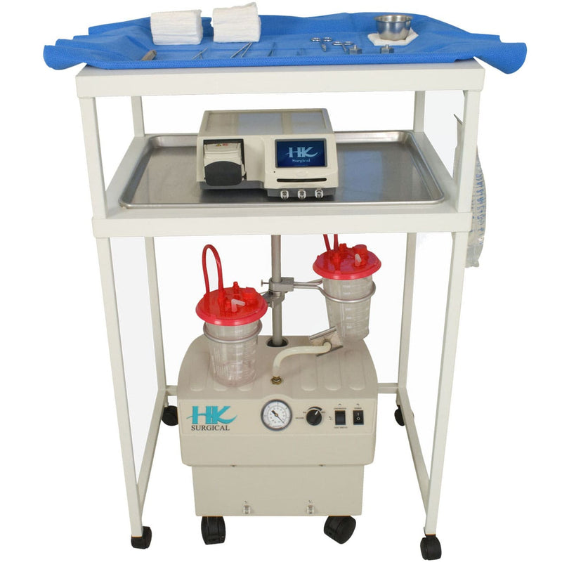 HK Surgical Klein Cart with equipment