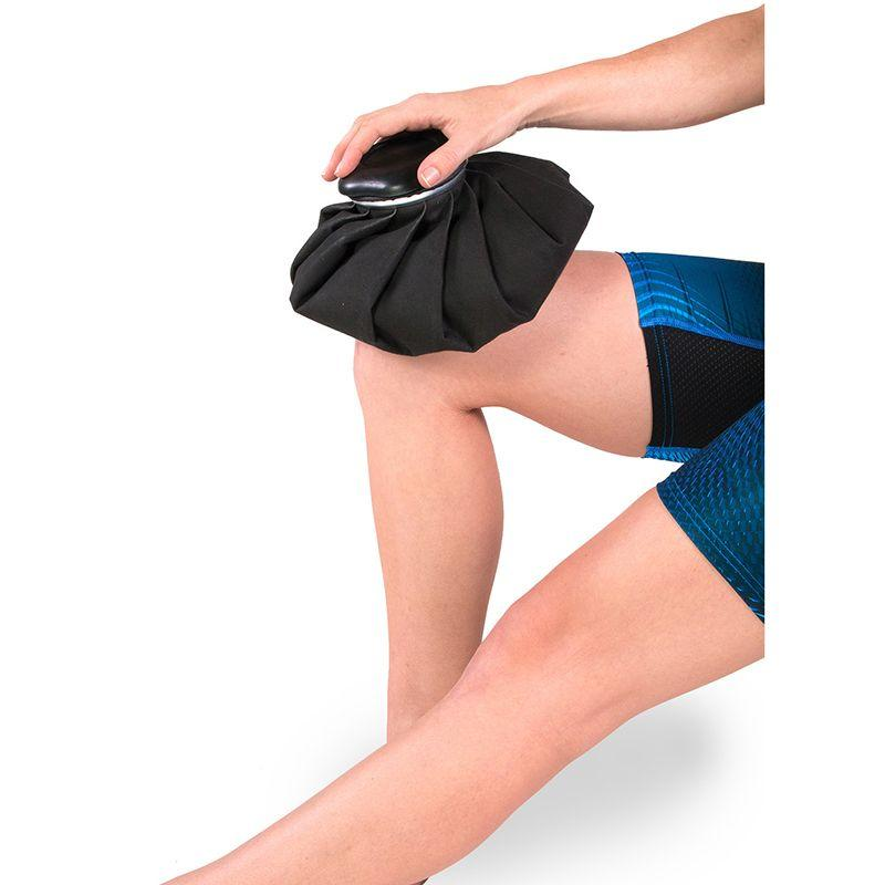 "ICE20 11"" Refillable Ice Therapy Bag on Knee"
