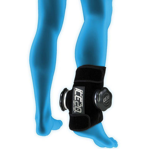 ICE20 Compression Wrap - Double Ankle - Heel