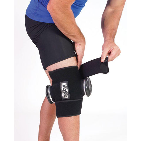 ICE20 Compression Wrap - Double Knee Application