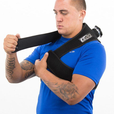 ICE20 Compression Wrap - Neck/Traps - Application