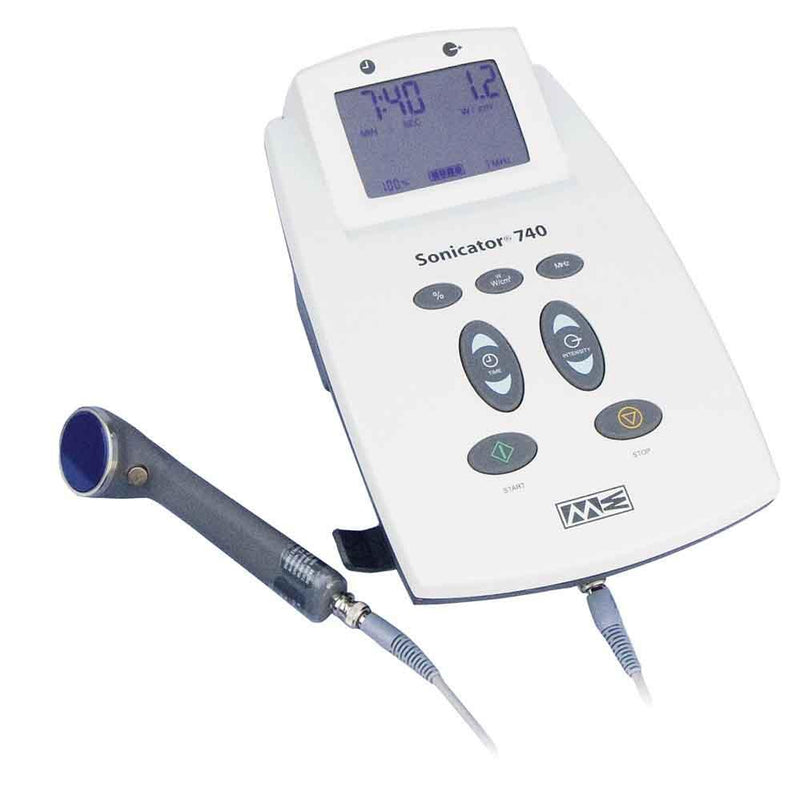 Mettler Sonicator 740 Therapeutic Ultrasound with 3 Applicators