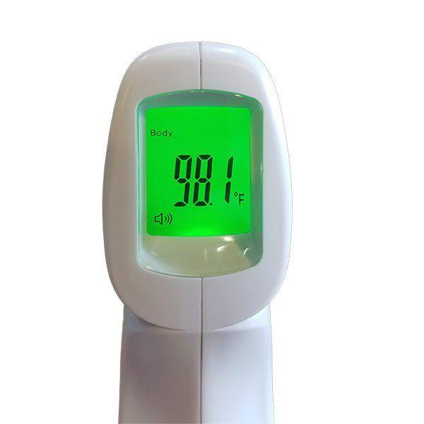 Mid Central Medical Digital Infrared Thermometer - Backlit Screen