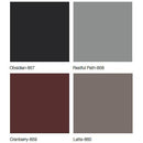 Midmark Articulating Armboard Colors - Obsidian, Restful Path, Cranberry, Latte