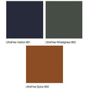 Midmark Articulating Armboard Colors - UltraFree Harbor, UltraFree Wheatgrass, UltraFree Spice