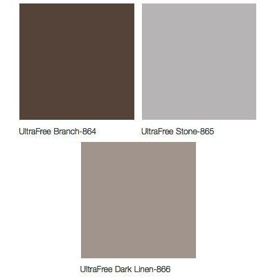 Midmark Articulating Armboard Colors - UltraFree Branch, UltraFree Stone, UltraFree Dark Linen