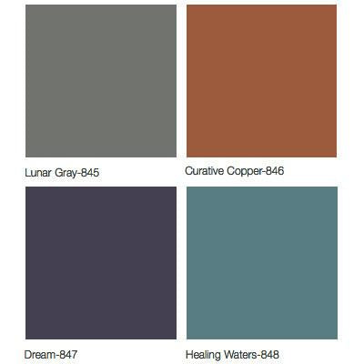 Midmark 640 Pediatric Examination Table Upholstery Colors - Lunar Gray, Curative Copper, Dream, Healing Waters