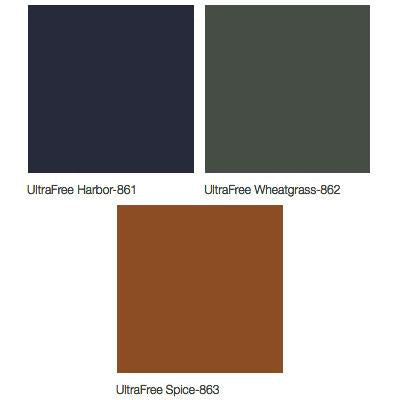 Midmark 640 Pediatric Examination Table Upholstery Colors - UltraFree Harbor, UltraFree Wheatgrass, UltraFree Spice