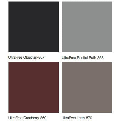 Midmark 640 Pediatric Examination Table Upholstery Colors - UltraFree Obsidian, UltraFree Restful Path, UltraFree Cranberry, UltraFree Latte