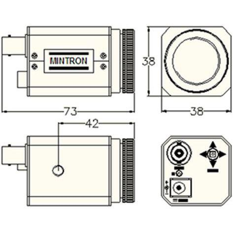 Mintron HD CCD Camera Package - Schematic