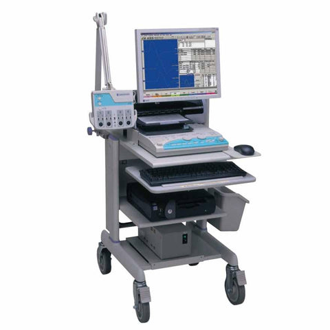 Nihon Kohden Neuropack S1 MEB-9400 EMG EP on Mobile Cart