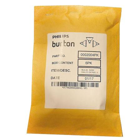 Burton Genesis Plus Major OR and APEX Surgical Light Replacement Bulbs - Packaging