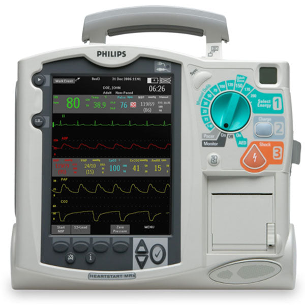 Philips HeartStart MRx Defibrillator/Monitor - Certified Pre-Owned