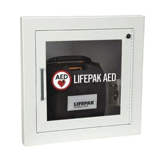 Physio-Control Recessed AED Wall Cabinet