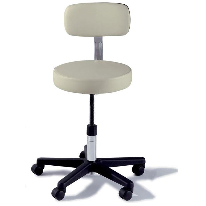Ritter 271 Adjustable Stool with Soft Rubber Casters