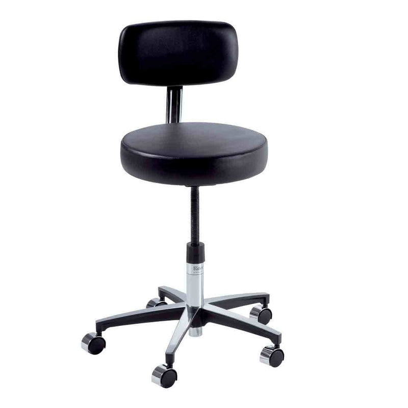 Ritter 275 Adjustable Physician Stool with Locking Casters
