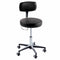 Ritter 277 Air Lift Stool with Hand Release, Soft Rubber Casters