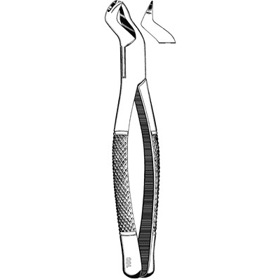 Sklar Extracting Forceps #88L - Physician Grade