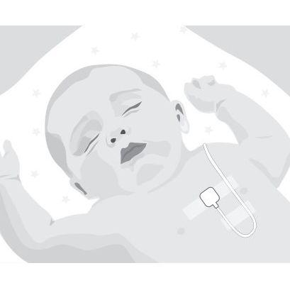 SleepSense Infant Piezo Beltless Effort Sensor example