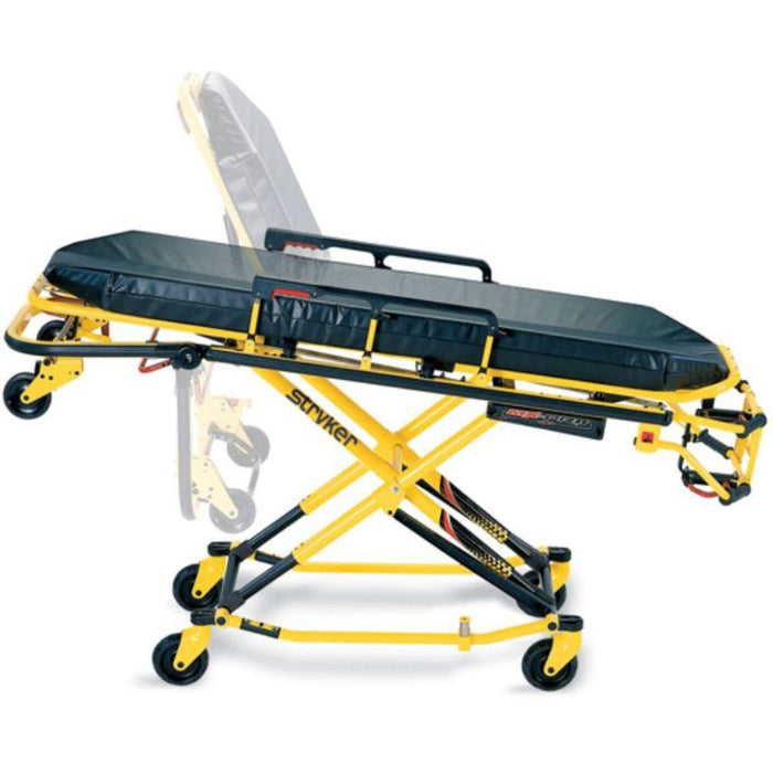 stryker mx pro r3 ambulance cot 6082 mfi medical rh mfimedical com Stryker Cot Parts Stryker Power Cot with Wings