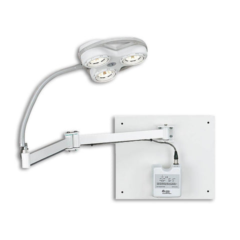 Sunnex TS2035W Tri-Star Wall Mount Surgical Lamp