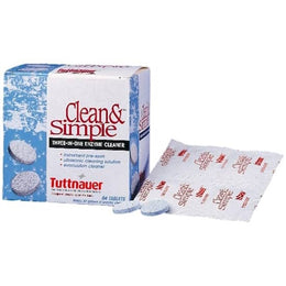 Tuttnauer Clean & Simple Ultrasonic/Enzymatic Tablets