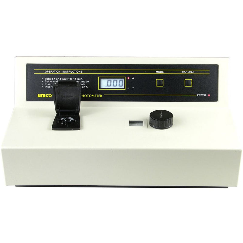 Unico S1100 Visible Spectrophotometer - Front